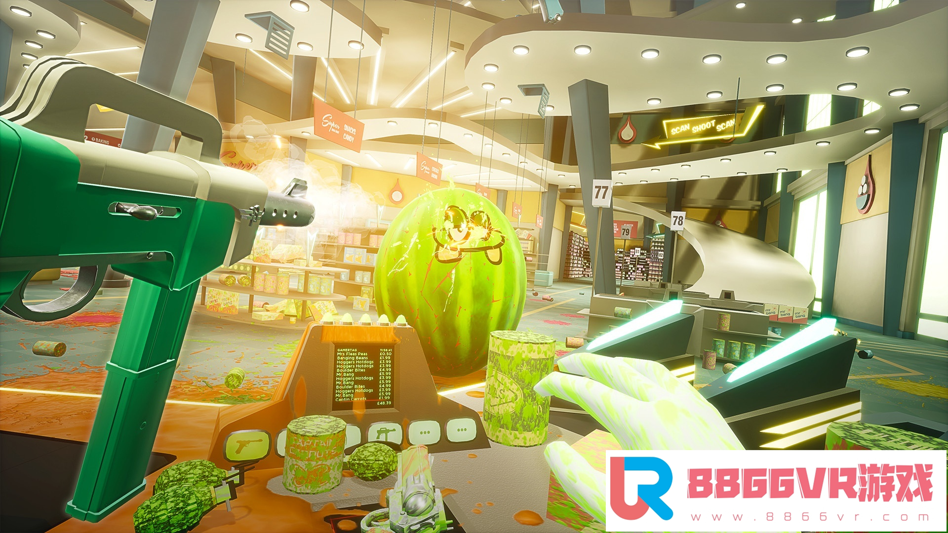 【合作VR汉化】射击水果 VR (Shooty Fruity)