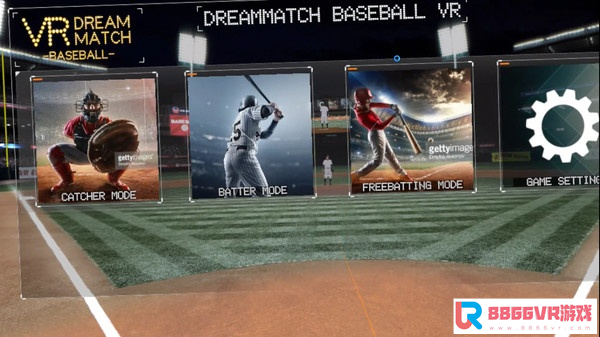 [VR交流学习]VR 梦幻棒球 (VR DREAM MATCH BASEBALL)