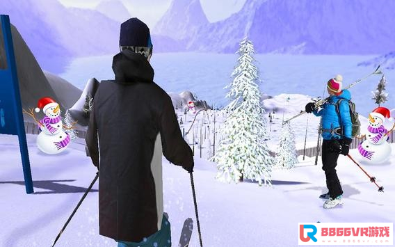 [Android VR] 滑雪冒险VR(Skiing Adventure VR)