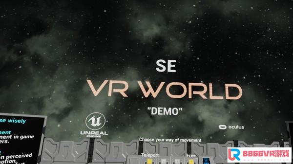 [VR交流学习] (SE VR World Demo)vr game crack