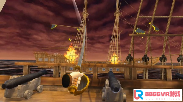 [VR交流学习] 甲板上的海盗VR(Pirates on Deck VR)vr game crack