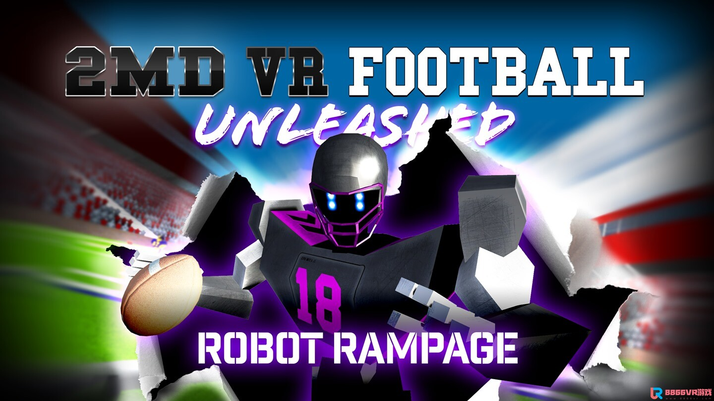 [Oculus quest] 2MD:VR橄榄球(2MD: VR Football Unleashed)